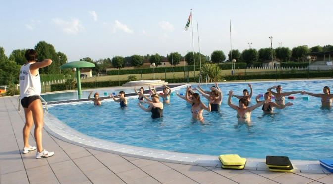 Espace aquatique camping gers camping les berges du for Camping toulouse piscine